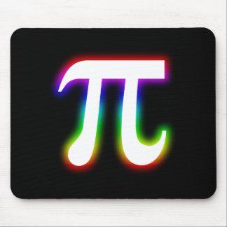 Colorful Glowing Pi | Math Mouse Mat