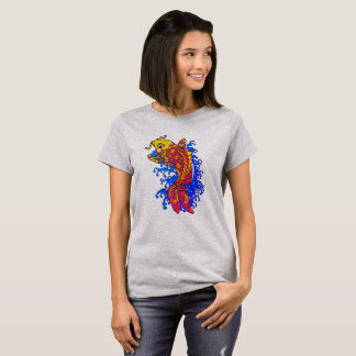 Colorful Goldfish Koi T-Shirt