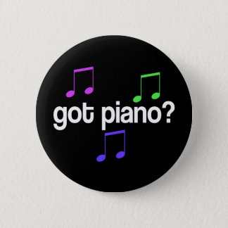 Colorful Got Piano Music Button