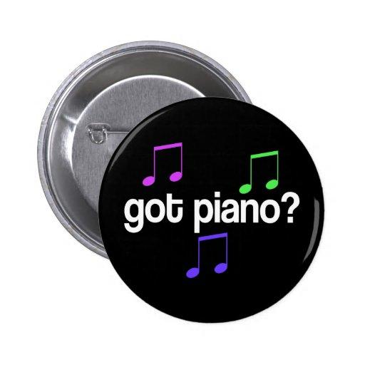 Colorful Got Piano Music Button
