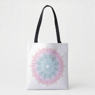 Colorful Gradient Mandala Bag