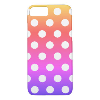 Colorful Gradient Polka Dots - iPhone 7 Case