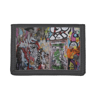 Colorful Graff Tri-fold Wallets