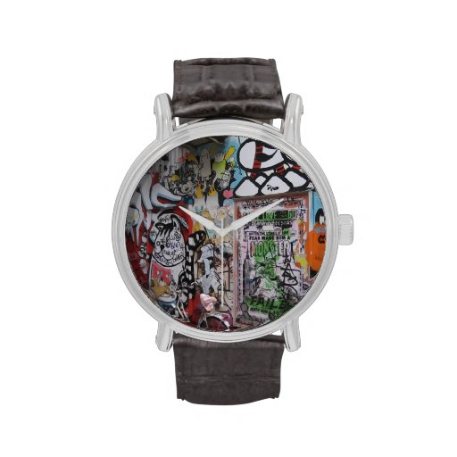 Colorful Graff Wristwatches