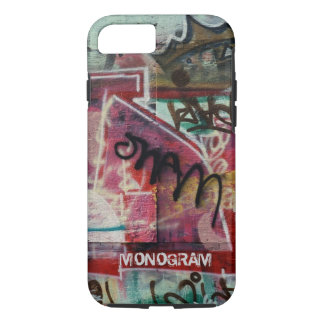 Colorful Graffiti Street Grunge Art-Monogram iPhone 7 Case