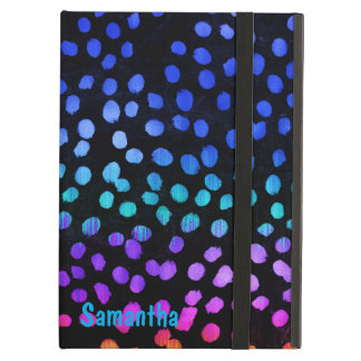 Colorful Graident Dots iPad Air Case