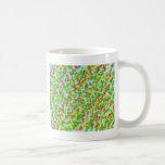 colorful grain of sand mug
