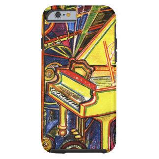 Colorful Grand Piano Tough iPhone 6 Case