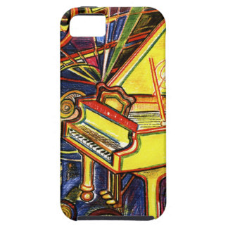 Colorful Grand Piano iPhone 5 Cases