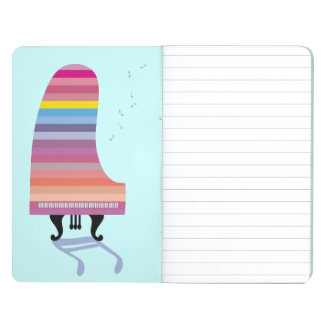 Colorful Grand Piano Journal