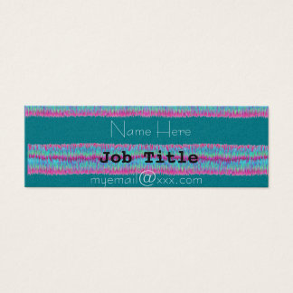 colorful grass business card