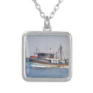 Colorful Greek Fishing Boat Pendant