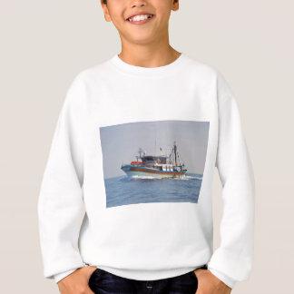 Colorful Greek Fishing Boat Sweatshirt
