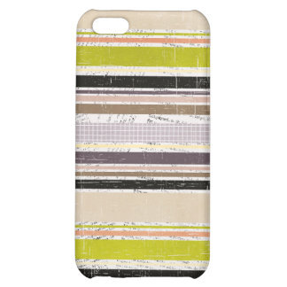 Colorful Grunge Oxford Stripes 4s Cover For iPhone 5C
