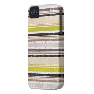 Colorful Grunge Oxford Stripes iPhone 4s Case Case-Mate iPhone 4 Case