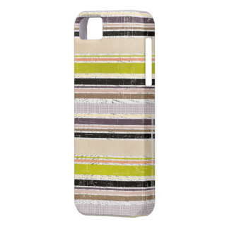 Colorful Grunge Oxford Stripes iPhone 5s Case iPhone 5 Cover