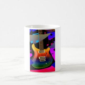 Colorful Guitar - Rock On! Mug