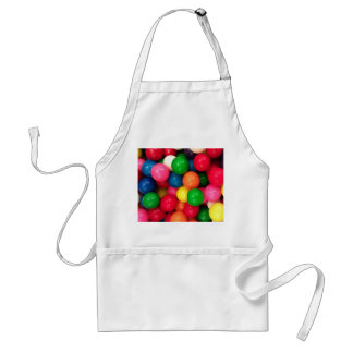 Colorful Gum Ball Candy Standard Apron