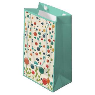 Colorful Gumdrop Pattern Gift Bag