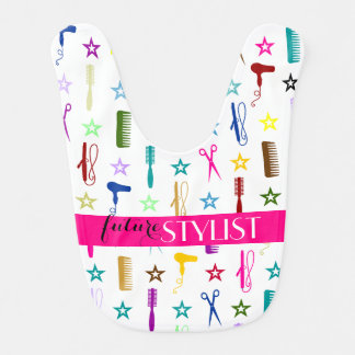Colorful Hair & Beauty Tools - Future Stylist Bib