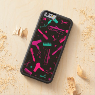 Colorful Hair & Beauty Tools Wood Phone Case Carved® Maple iPhone 6 Bumper