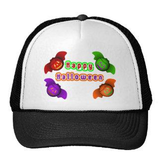 Colorful Halloween Baseball Bats Trucker Hats