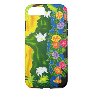 Colorful hand painted wraps.  Moorea, French iPhone 8/7 Case
