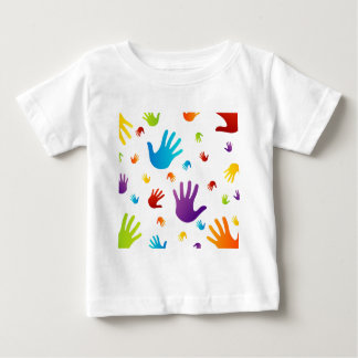 colorful hands infant T-Shirt