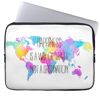 Colorful Happiness Laptop Sleeve