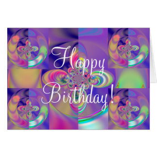 Colorful Happy Birthday! Card