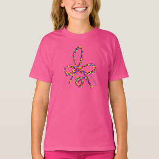 Colorful Happy Celtic Strength Symbol T-Shirt