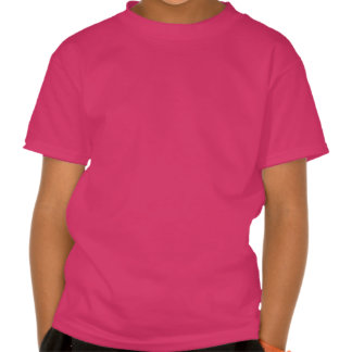 Colorful Happy Easter Greeting Text Tee Shirts