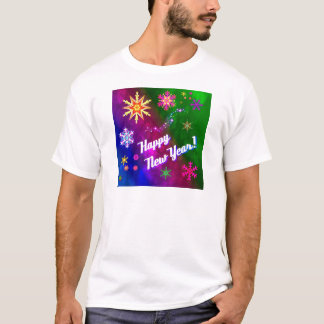 Colorful Happy New Happy Year T-Shirt