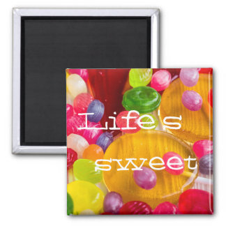 Colorful hard candy photo|| Life's sweet Magnet