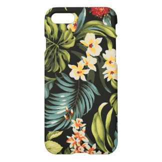 Colorful Hawaii Flowers Design iPhone 7 Case