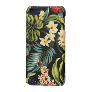 Colorful Hawaii Flowers Design iPod Touch 5G Cases