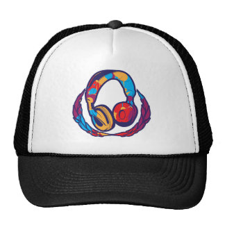 Colorful Headphones Cap