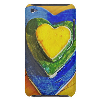 Colorful Hearts Barely There iPod Cases