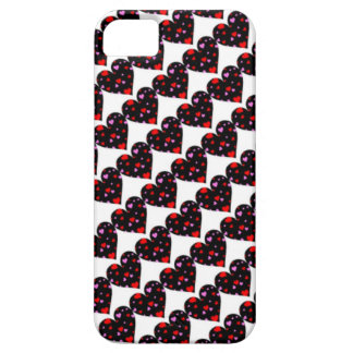 Colorful hearts love case iPhone 5 cases