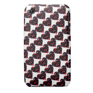 Colorful hearts love case Case-Mate iPhone 3 case
