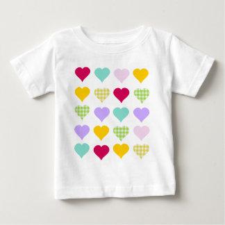 Colorful Hearts Tee Shirt
