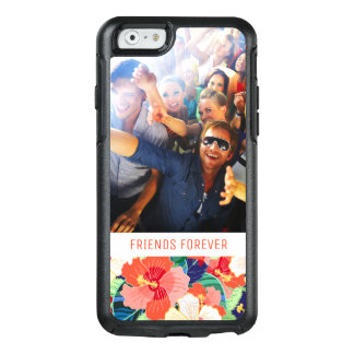 Colorful Hibiscus Pattern | Add Your Photo & Text OtterBox iPhone 6/6s Case