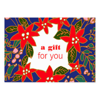 Colorful Holiday Gift Certificate Pack Of Chubby Business Cards