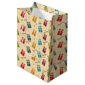 Colorful Holidays Gifts Bag