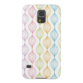 Colorful horizontal ogee pattern cases for galaxy s5