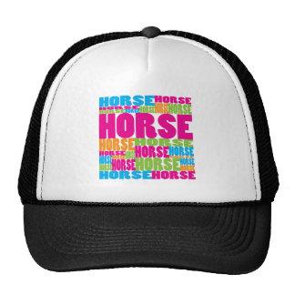 Colorful Horse Cap