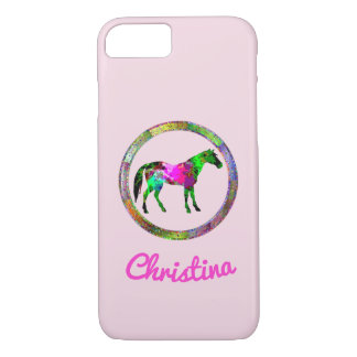 Colorful Horse iPhone 8/7 Case