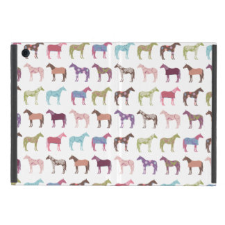 Colorful Horse Pattern iPad Mini Case