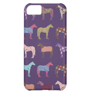 Colorful Horse Pattern iPhone 5C Case