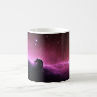 Colorful horsehead nebula basic white mug